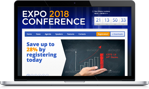 Expo18 WordPress Theme